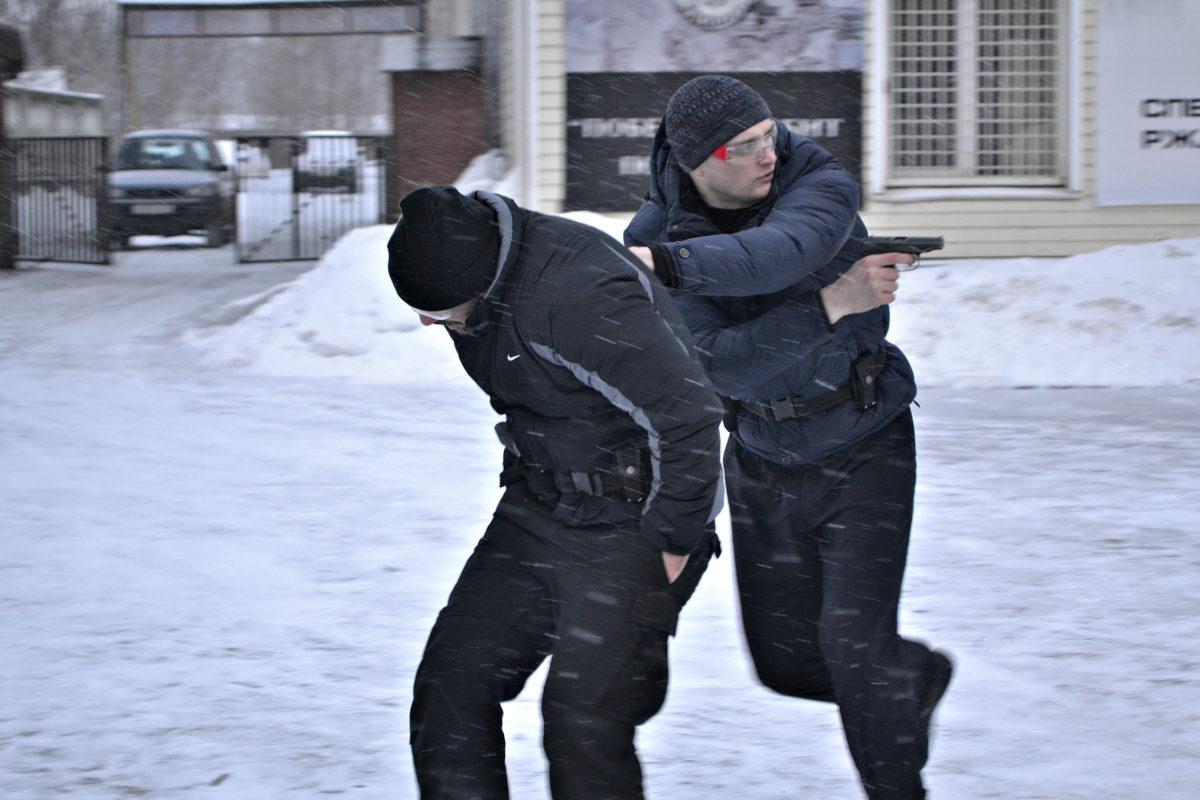 Тренировка телохранителей