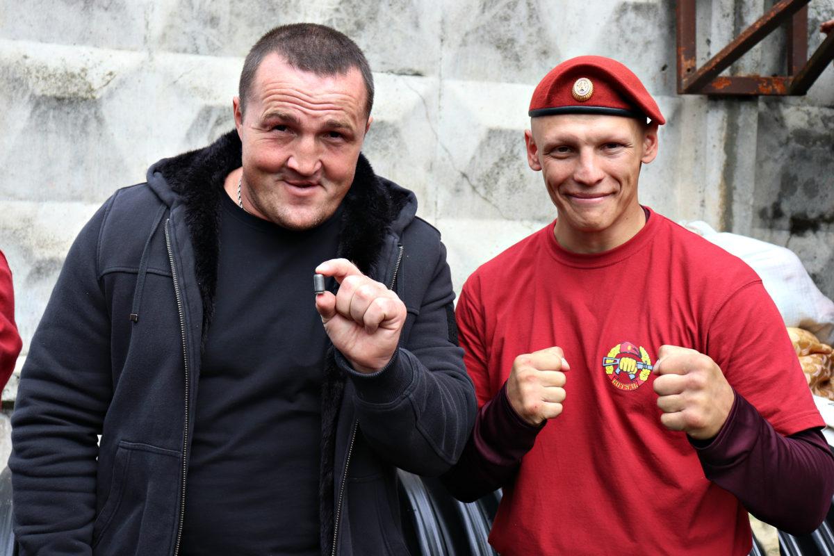 Краповик с Денисом Лебедевым