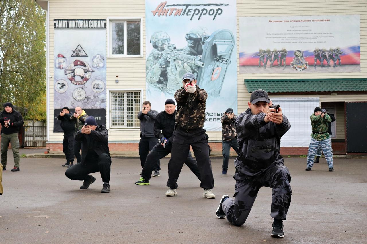 Тренировка сотрудников охраны