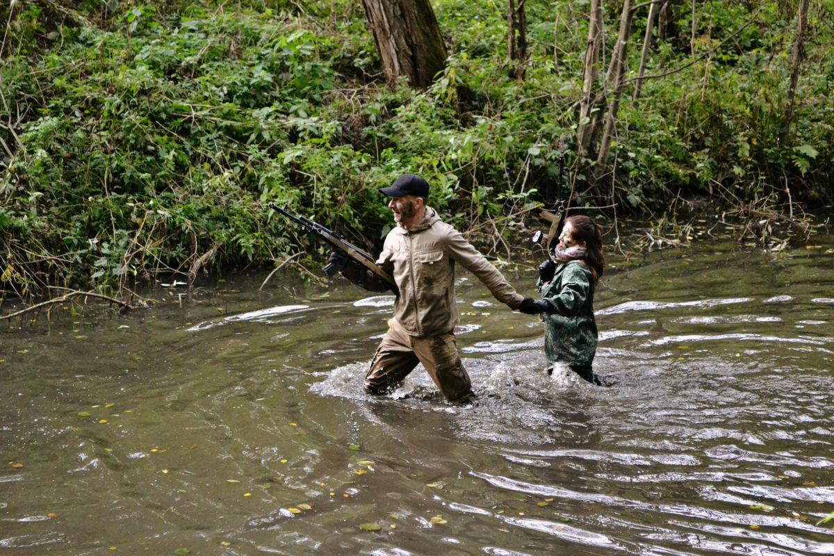 переправа по реке