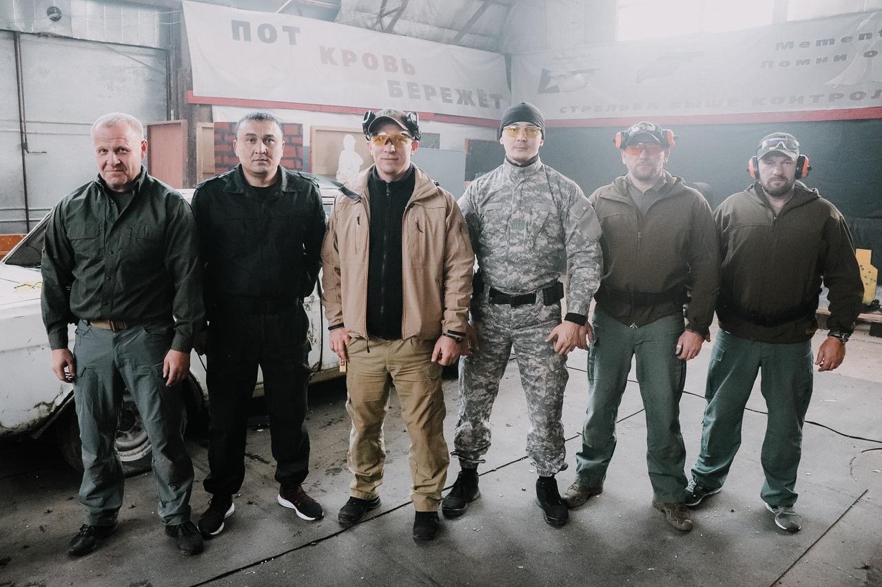 Телохранители из Энгельса и Казахстана