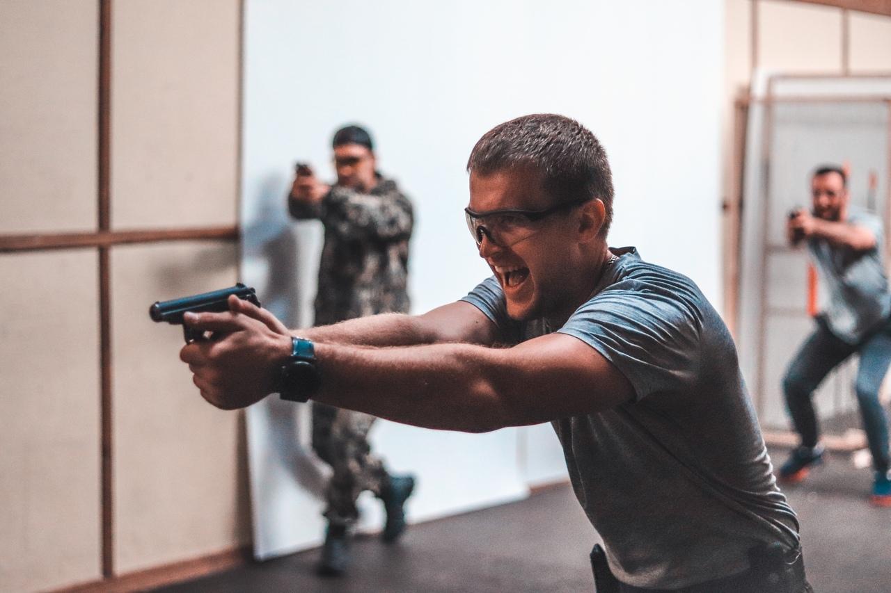 Занятия телохранителей