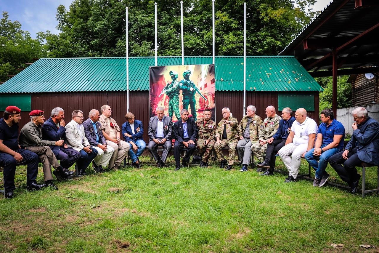 Встреча боевых товарищей